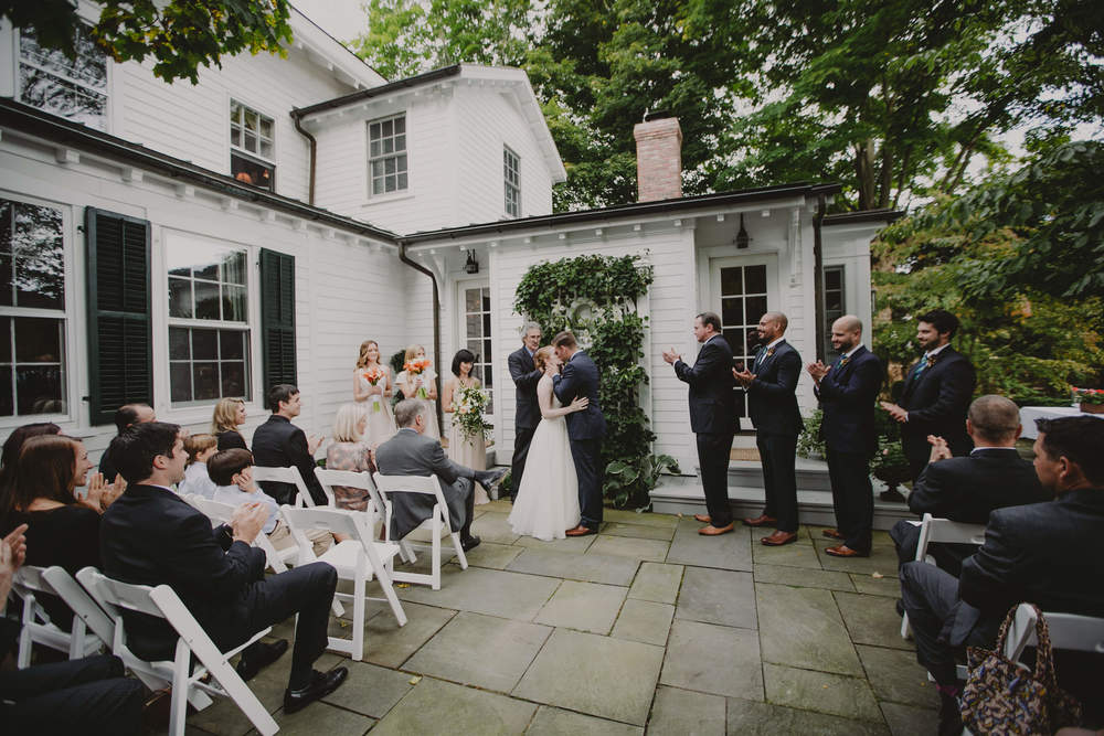top brooklyn wedding photographer backyard wedding upstate new york