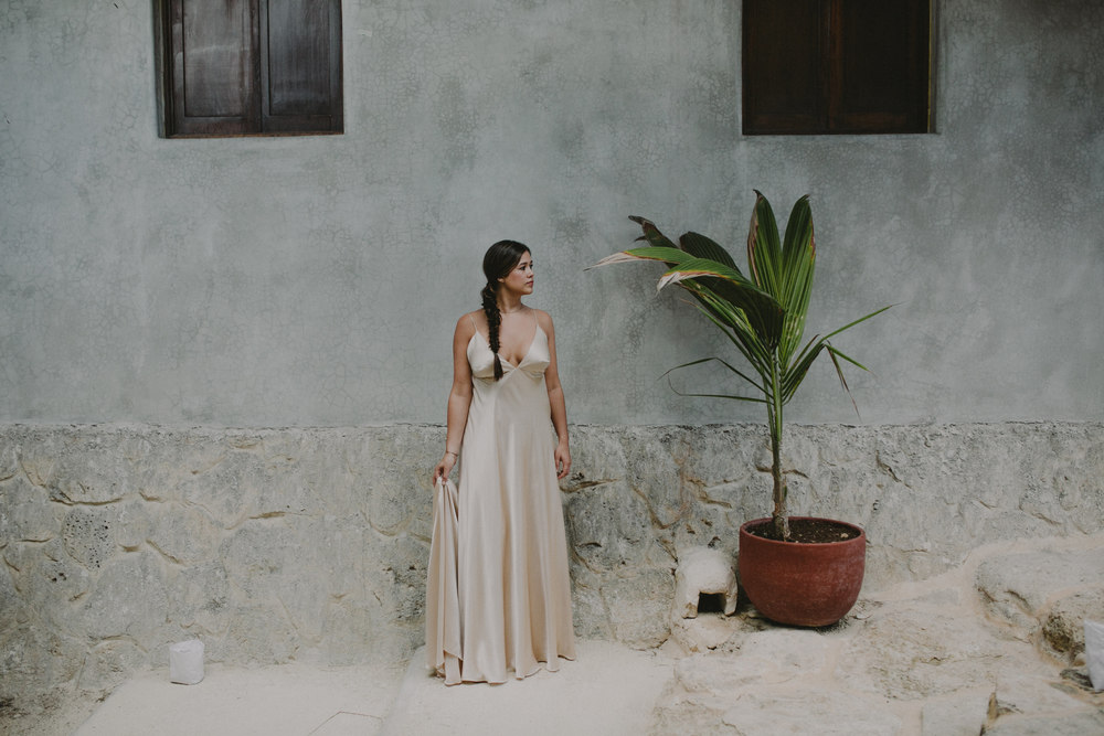 Tulum Wedding Photographer Papaya Playa Wedding Mexico Bohemian Indie Rebecca Shoneveld Kerry Beach Events