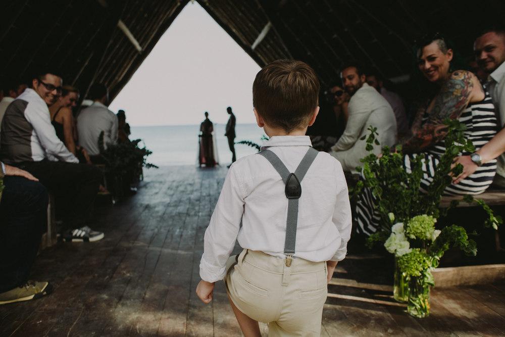 Tulum Wedding Photographer Papaya Playa Wedding Mexico Bohemian Indie Rebecca Shoneveld Kerry Beach Events