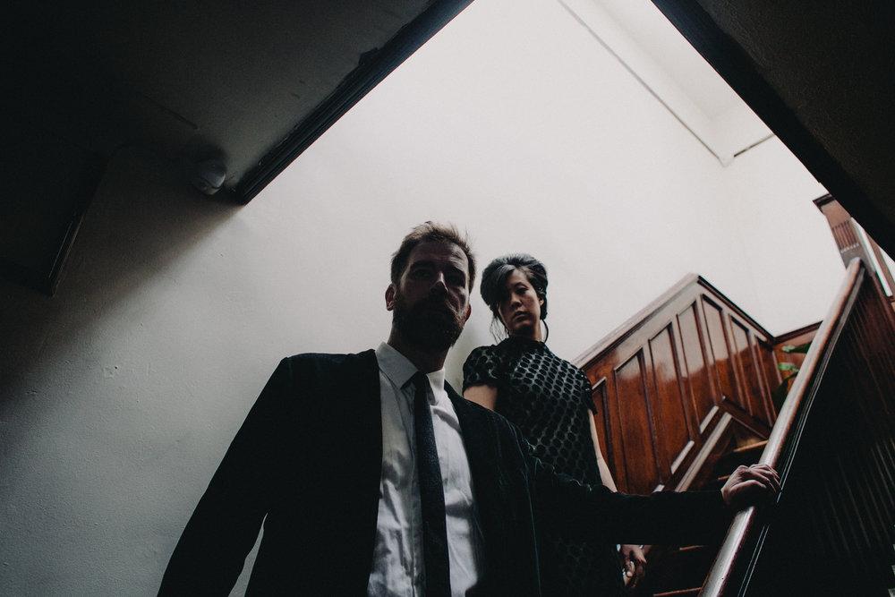 top brooklyn wedding photographer dario argento suspiria wong kar wai film still engagement session