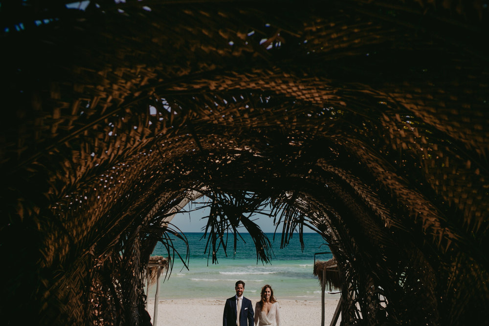 Casa Malca Tulum Wedding Photographer