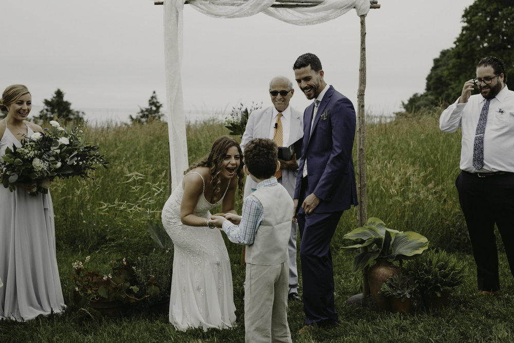 Elihu Island Wedding by Chellise Michael Photography
