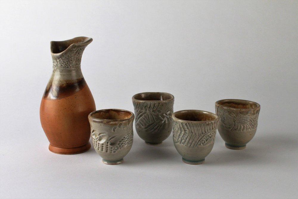 Elemental Sake Set, 2014.