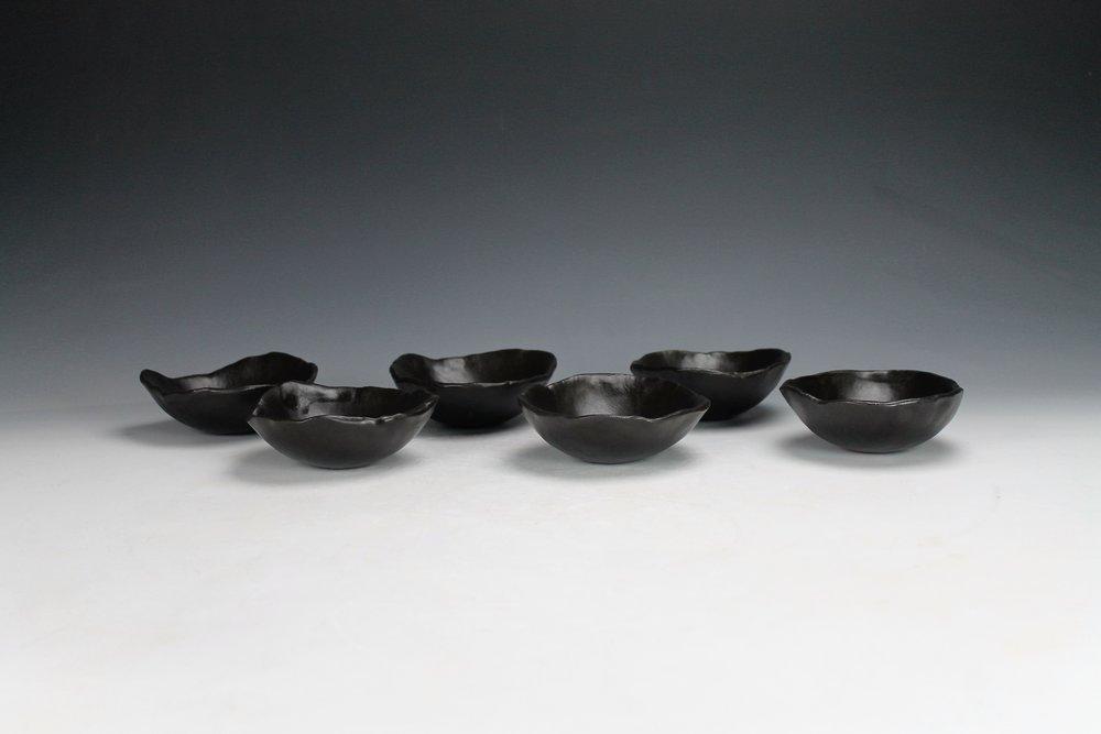 Black Bowls, 2016.