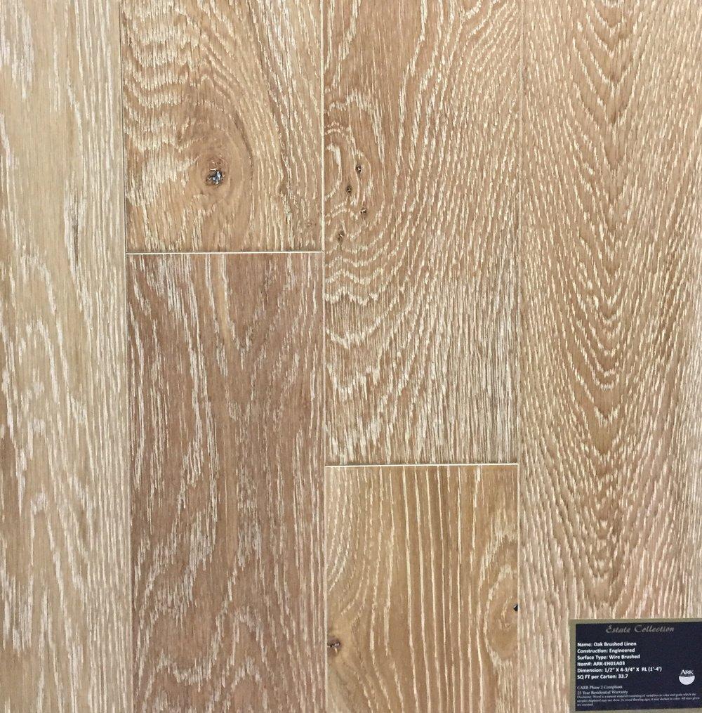 Oak Brushed Linen