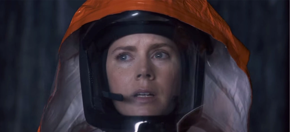 "Amy Adams in  ""Arrival.""   Dir. Denis Villeneuve (""Sicario,"" ""Prisoners,"" ""Incendies"") (Nov. 11)"