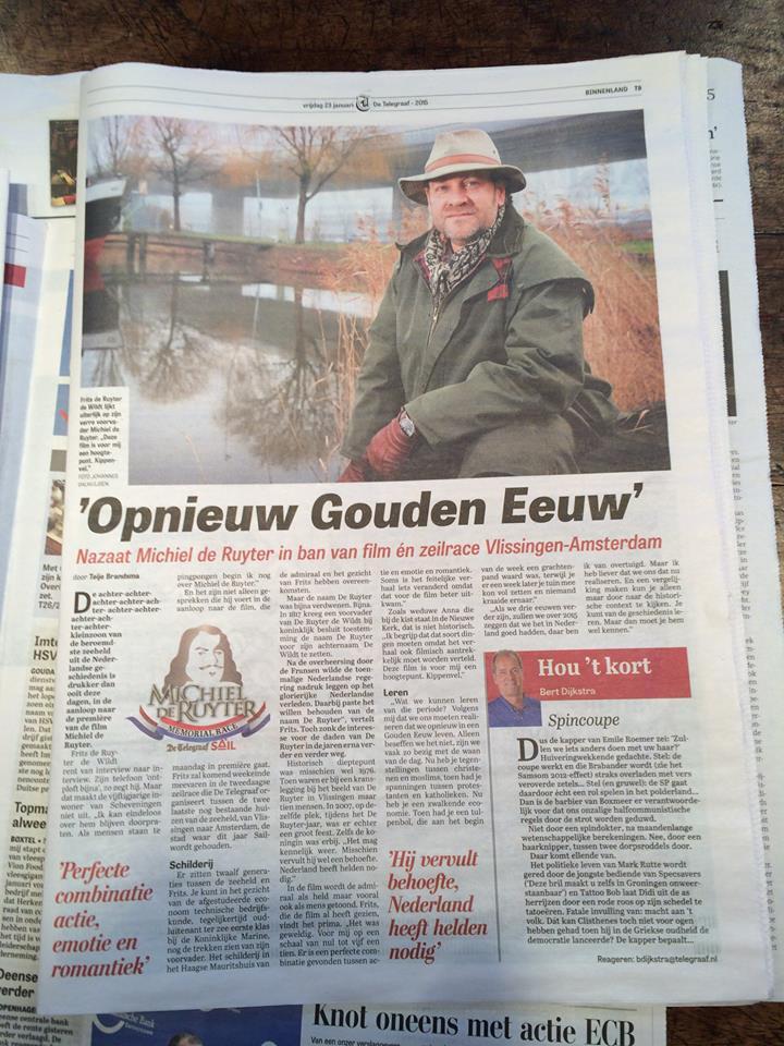 Nazaat van Michiel de Ruyter spreekt over de Nieuwe Gouden Eeuw.jpg