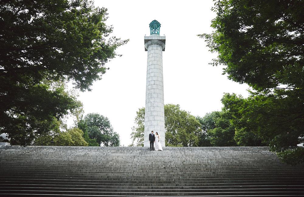 Anna Maria & Shawn: Forte Green Park, Brooklyn