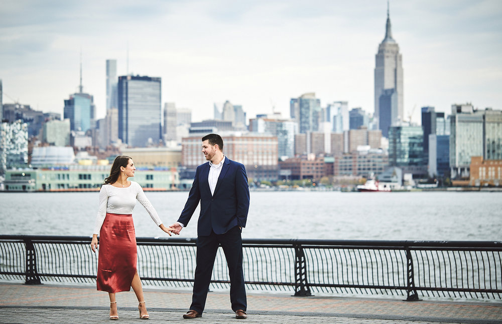 Tim & Brittany: Hoboken, NJ   engagements