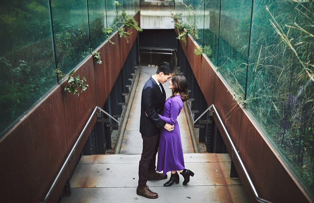 Kimia & Evan: The High Line, NYC