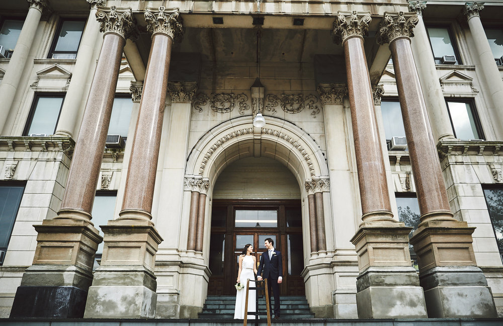Alexa & Chris: Jersey City, City Hall   weddings