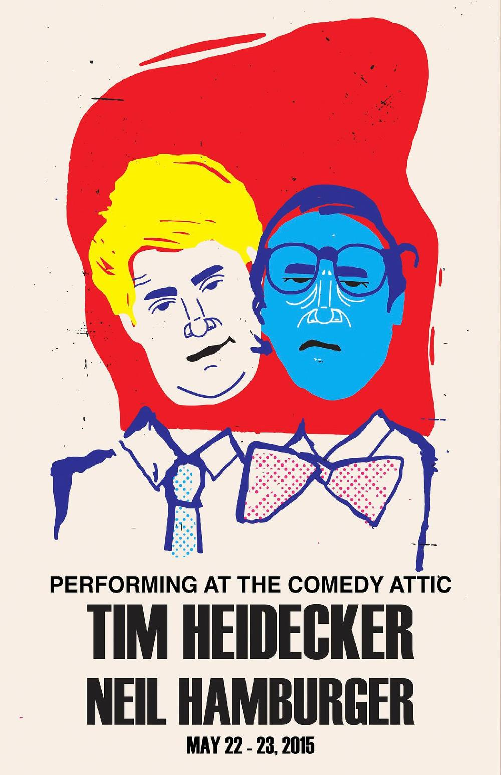 Tim Heidecker and Neil Hamburger LIVE in Bloomington, IN