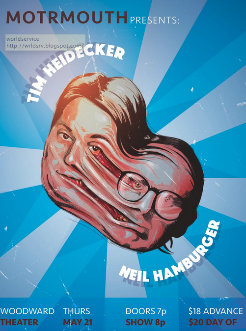 Tim Heidecker & Neil Hamburger LIVE in Cincinnati!