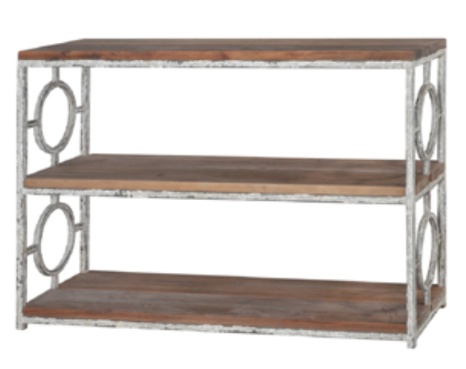 URBAN BOOKSHELF CONSOLE MADISON WREN HOME