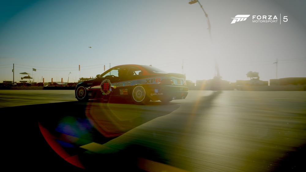 The Jimmy Johns BMW M3. Livery by XPR Cap10morgan. Photo Credit: XPR Forbidden