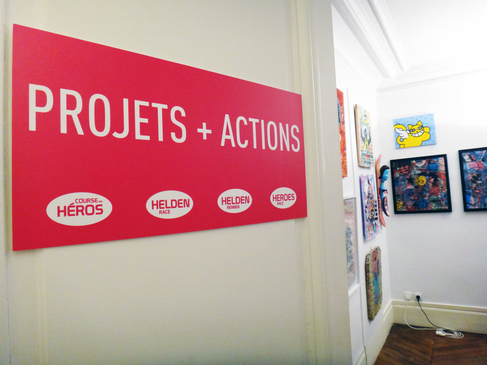 Projects + Actions local.