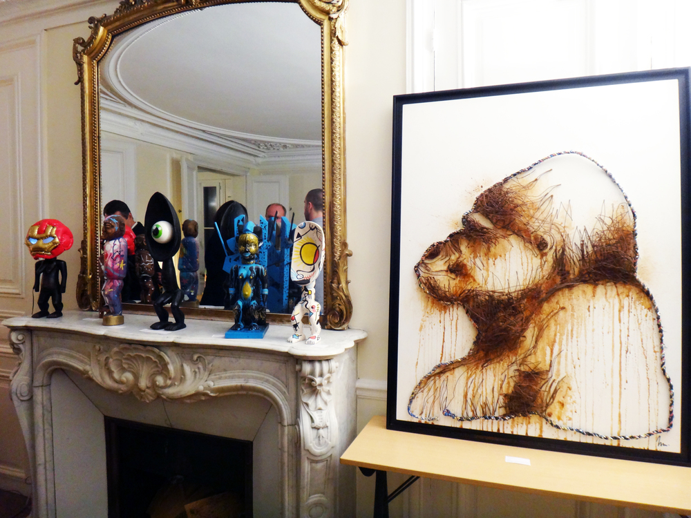 Artwork from David Gouny, Zenoy, Le Fétiche, Marko 93, Corinne Séguin, Nelson Doutres