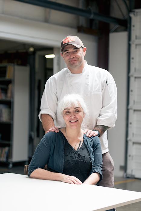 Natalie Chanin, the head honcho behind Alabama Chanin, a clothier and farm-to-table restaurant.