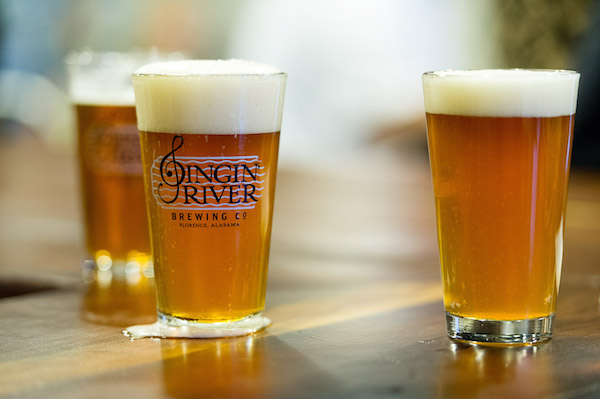 Florence's micro-brewery, Singin' River.