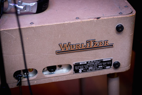 A Wurlitzer turntable at Muscle Shoals Sound Studios.