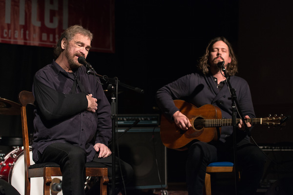 Donnie Fritts and John Paul White performed an entire set together.