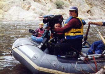 Steadicam on the Kern River