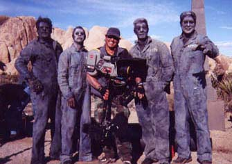 "Steadicam on ""Route 666"" Chasing Zombies. Fun stuff."