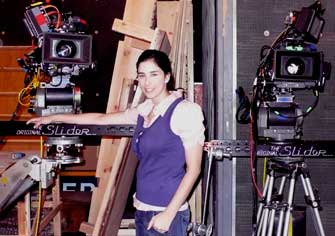 "Sarah Silverman with my ""Original "" Slider."