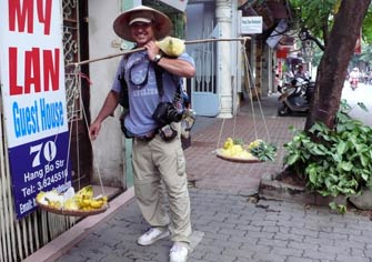 Walking Hanoi- North Vietnam
