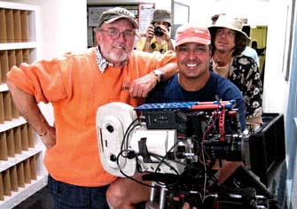 "My menter, Rex Metz asc. working on a job together. ""The List"""