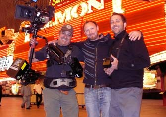 Shooting Steadicam in Vegas. Richard Henkels DP.