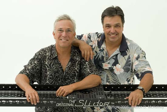 "Jerry and Ron with The ""Original"" Slider..."