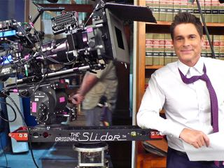 "Rob Lowe and The ""Original"" Slider... Slider on!"