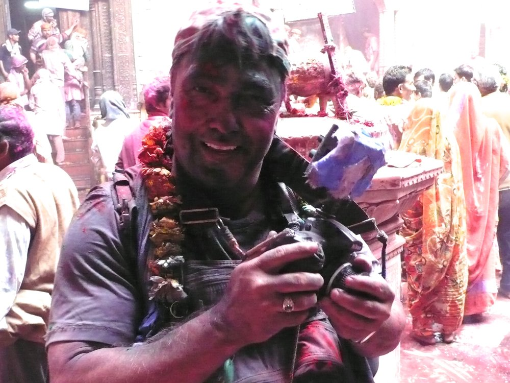 "The ""Holi"" celebration in India"