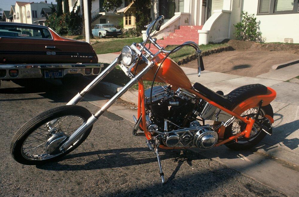 My 1962 Harley Panhead