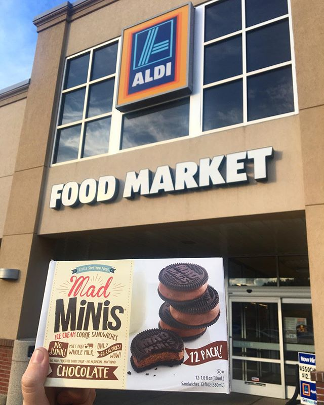 Don't forget to check us out at @aldiusa and use our #MadSummerFun $1 off coupon this week! 😋😍 #linkinbio