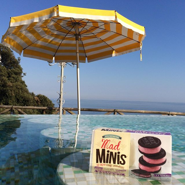 Here's to the First Day of Summer.  Yippee! . . . . #firstdayofsummer #summersolstice #madminis #icecream #dessert #lowcalorie #weightwatchers #healthyeats