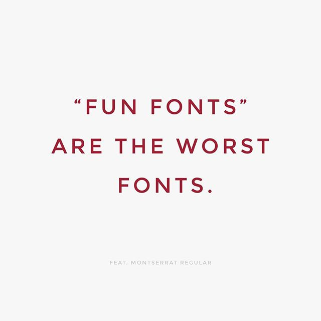 Amirite? I'm looking at you, Papyrus! #TypeTuesday