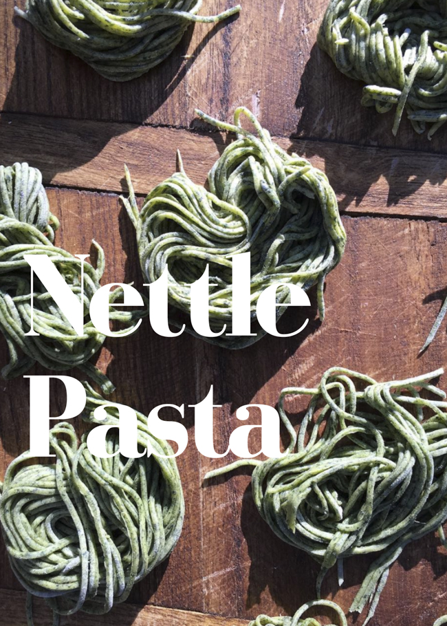 Nettle Pasta by © Honest Magazine
