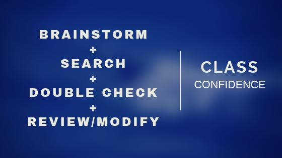 4-Step Trademark Class Selection Process