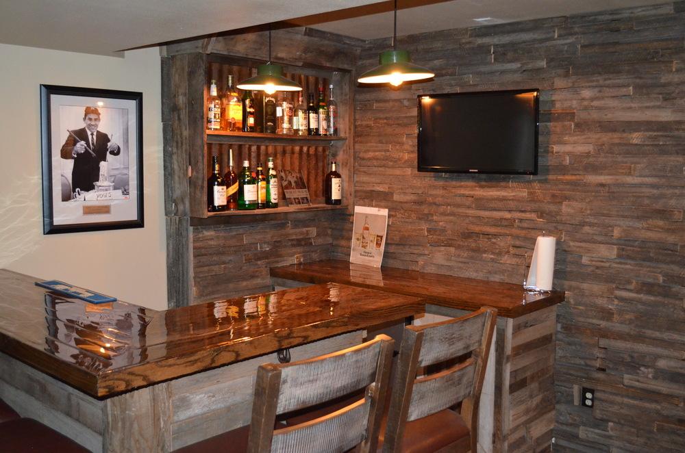 Custom Home Bar — Wooden Phoenix Design