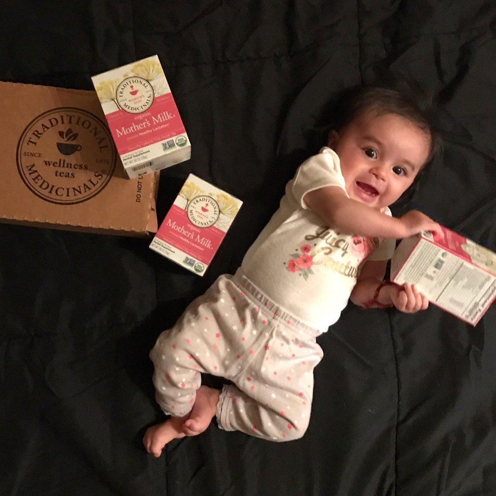 breastfeeding lactation tea mothers milk