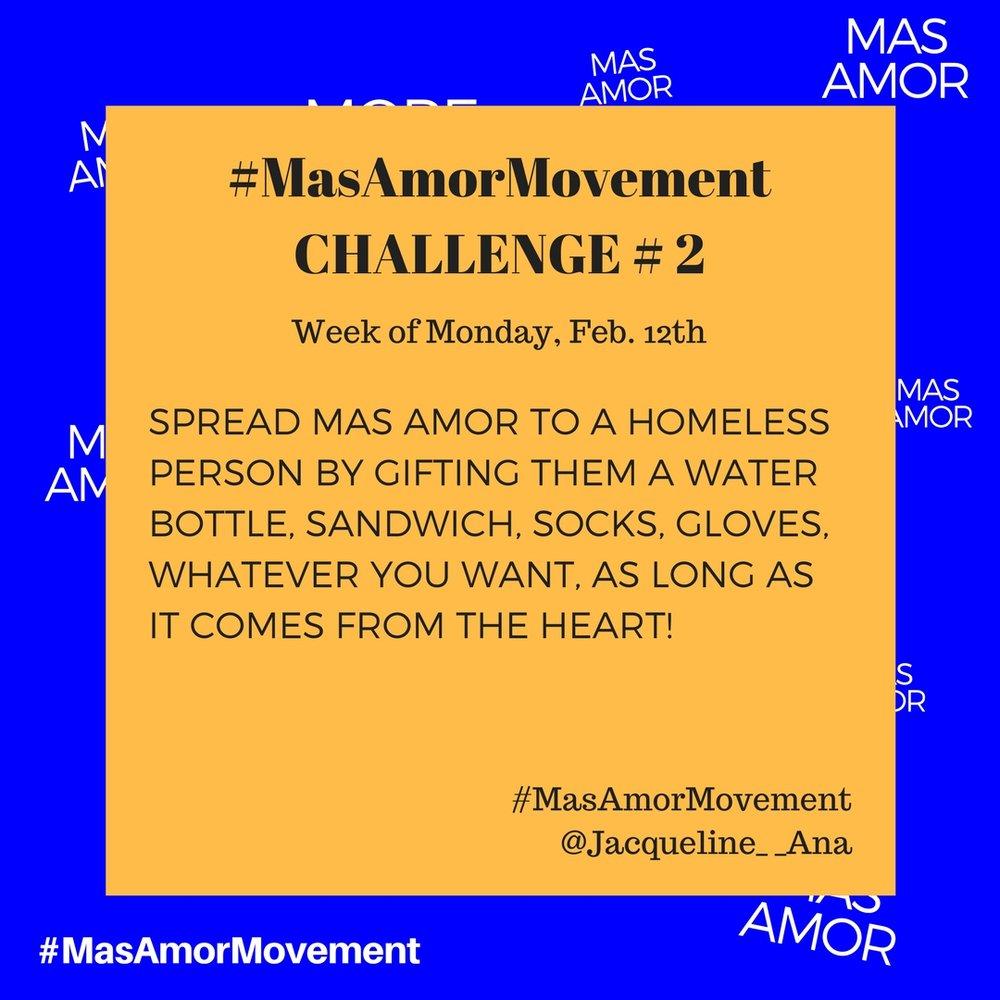 Instagram Challenge Spread More Love Movement