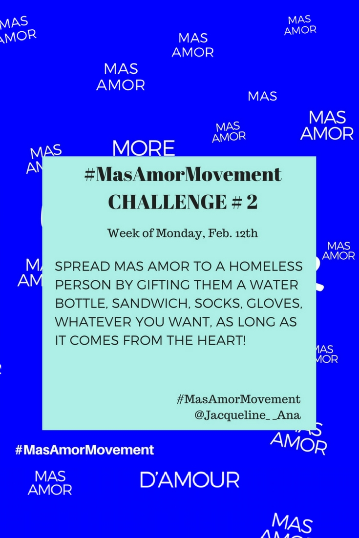 How To Spread More Love | Spread More Love | Mas Amor Movement | #MasAmorMovement | #MasAmor | #spreadlove | #SpreadMoreLove | #InstagramChallenge | #InstagramMovement | #LoveChallenge | #HowToSpreadMoreLove | http://anajacqueline.com