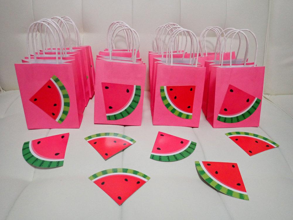 Watermelon DIY goodie bags
