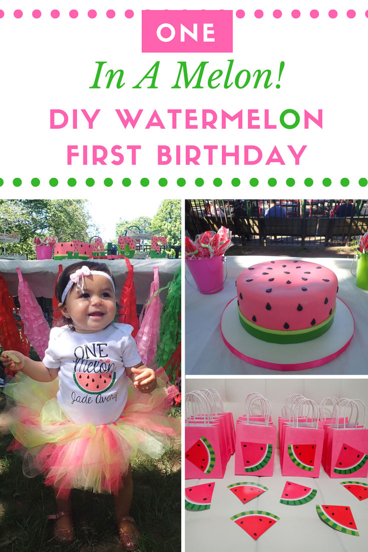 905cd14c4 One In A Melon Birthday | One In A Melon | Watermelon Birthday Party | Girl
