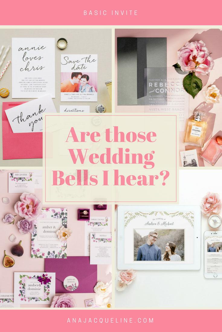 Wedding Invitation Suite DIY | Wedding Invitations | Clear Wedding Invitations | Stationery Goods |anajacqueline.com