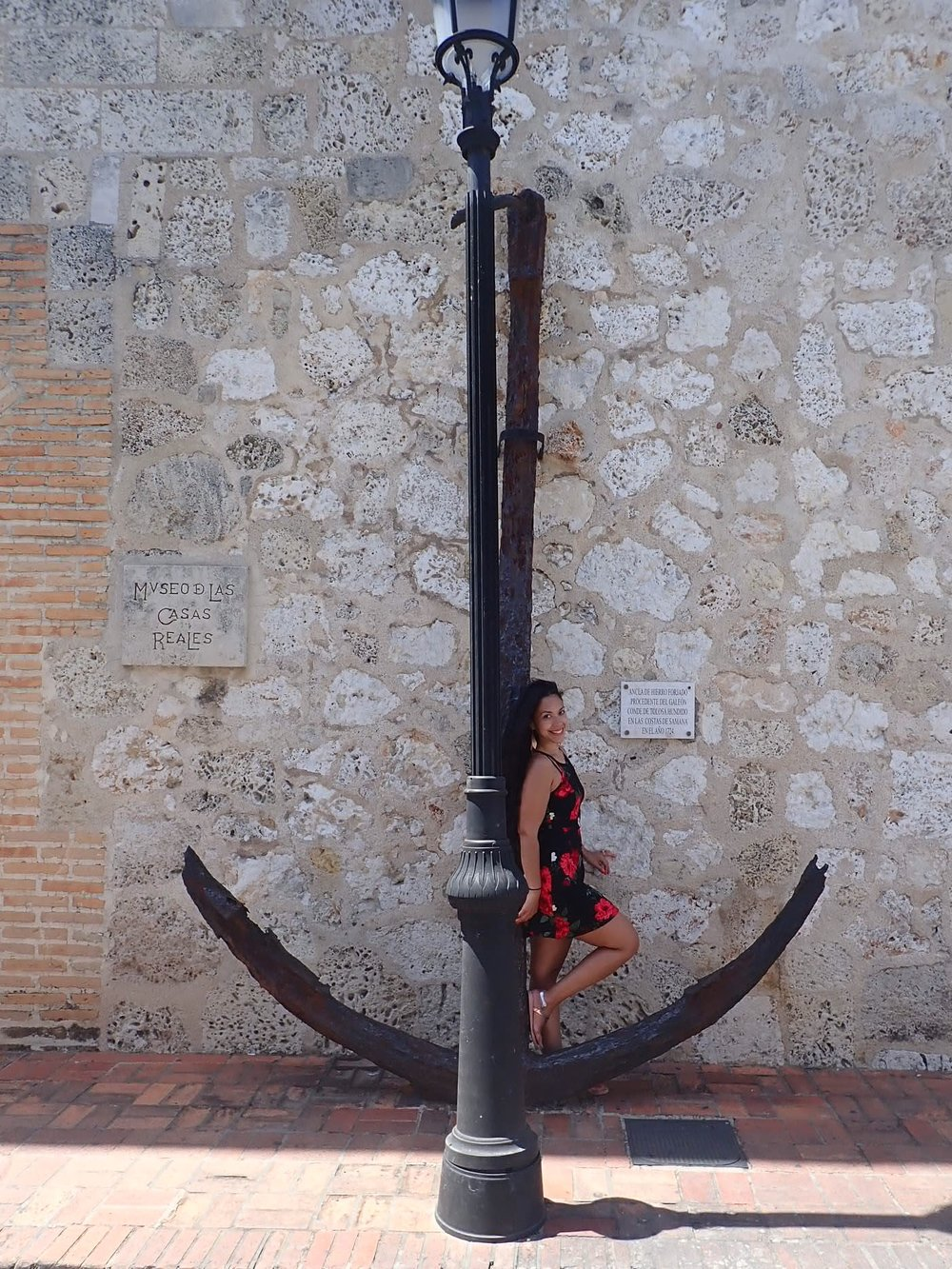 Museo D Las Casas Reales & Anchor from Samana 1724