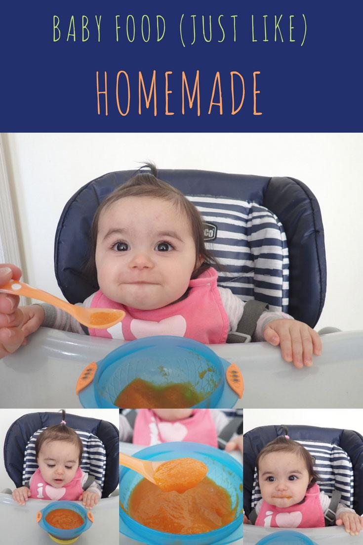 Baby Food Just Like Homemade | Homemade Baby Food | #HomemadeBabyFood | #BabyFood | #GerberBaby | AnaJacqueline.com