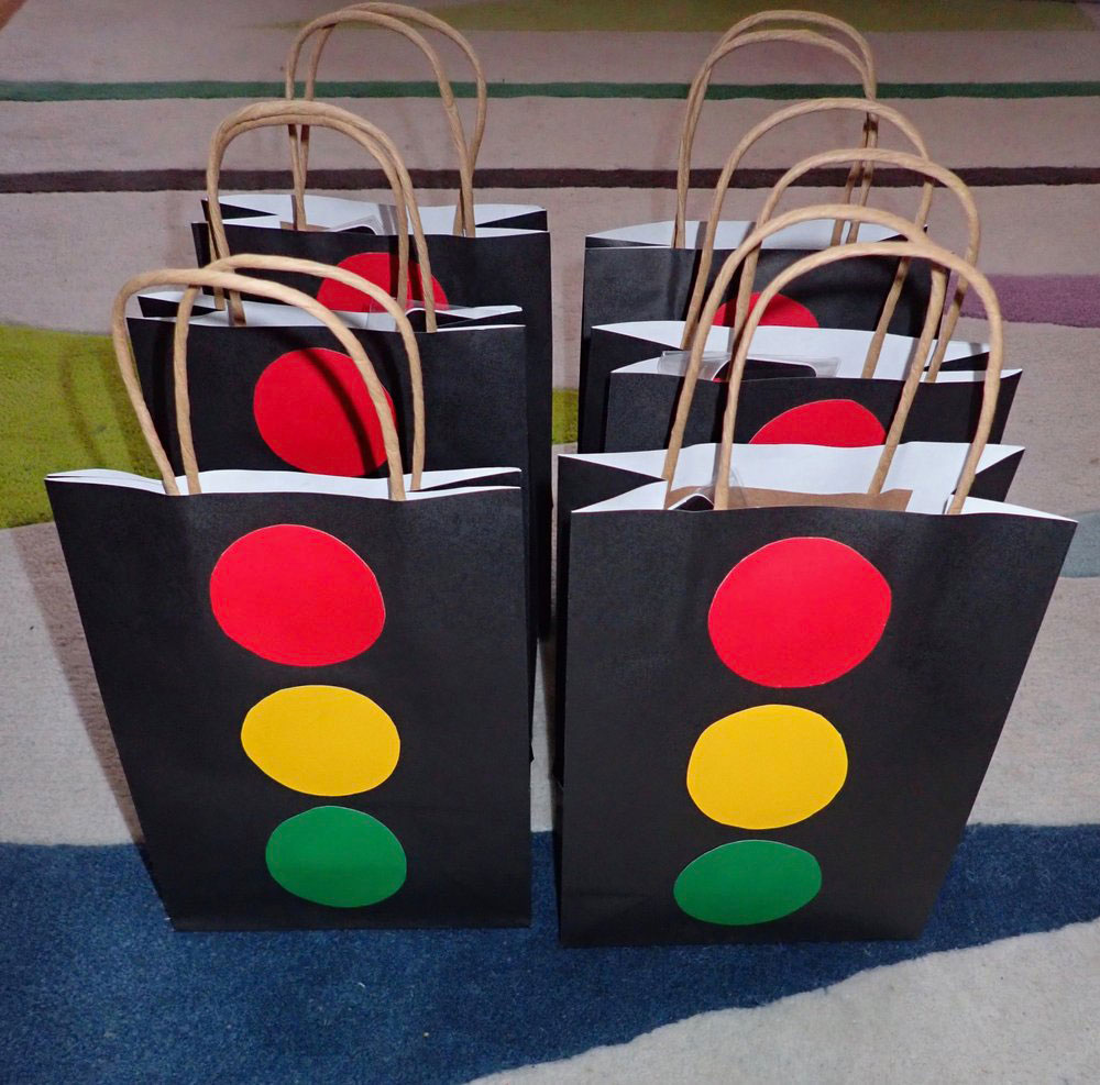 Stop Light Goodie Bags